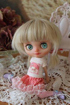 Middie Blythe OOAK doll klein Gerda