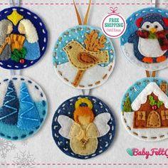 Felt Advent Calendar, Christmas Tree Advent Calendar, Christmas Alphabet, Felt Diy, Handmade Felt, Felt Crafts, Handmade Crafts, Felt Christmas Decorations, Felt Christmas Ornaments