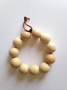 Wood Bead Trivet Small by TheLittleRedCabin on Etsy