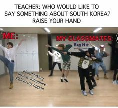 Literally me and my classmates