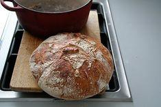 No knead bread - bak brød i helgen film! - Mat på bordet