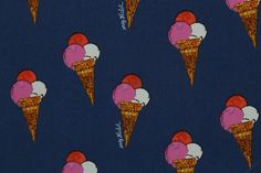 """Andy Warhol """"Ice Cream Desert"""" Print Powder Touch Dress Fabric Material in Crafts, Sewing & Fabric, Fabric 