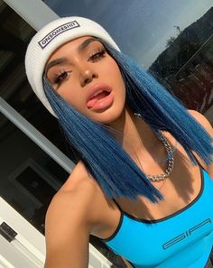 Preferred hair blue hair wig of human hair with baby hair brazilian lace front wig short bob wigs for women 30 prom wedding hairstyle tutorial for long hair roses rings part 3 Frontal Hairstyles, Baddie Hairstyles, Pretty Hairstyles, Teen Hairstyles, Casual Hairstyles, Medium Hairstyles, Latest Hairstyles, Weave Hairstyles, Hair Inspo