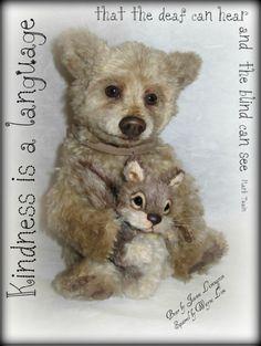 Bear by Joanne Livingston - DesertMountainBear  Squirrel by Wayne Lim -  Wayneston Bears