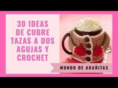 Free Crochet, Crochet Patterns, Mugs, Tableware, Youtube, Crochet Leaf Patterns, Crochet Leaves, Cover, Creativity