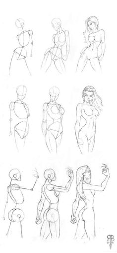 Frauen zeichnen