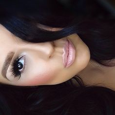 Love the makeup and hair color. Nice skin tone too!