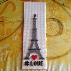 Eiffel Tower (Paris) hama beads by mortenlundemann