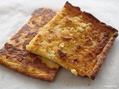 ΥΛΙΚΑ : 1,5 φλυτζάνι αλεύρι 1 φλυτζάνι νερό 2-3 αυγά 1,5 φλυτζάνι τυριά τριμμένα (κυρίως φέτα) 6 κουτ. σούπας ελαιόλαδο (2 για το ζυμάρι και 4 για το ταψί) αλάτι, πιπέρι Σ' όποιον αρέσει τρίβει μέσα λίγο δυόσμο ή ρίγανη ΕΚΤΕΛΕΣΗ Σ' ένα μεγάλο Pita Recipes, Yogurt Recipes, Greek Recipes, Cake Recipes, Cooking Recipes, Yummy Recipes, Savory Muffins, Savory Tart, Savoury Pies