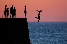 Play - Many of my friends have talked about wanting to go cliff-diving, and some have even done it. After watching New Moon and seeing Bella jump off that giant cliff, this activity seems exhilarating, and I need to do it in my future.