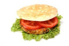Veggie burger template
