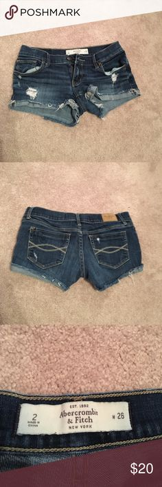 Abercrombie & Fitch Jean Shorts Jean Shorts Abercrombie & Fitch Shorts Jean Shorts