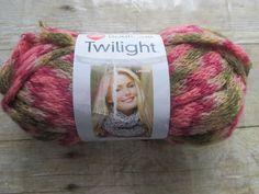 1 Skein Red Heart Boutique Twilight Yarn Rose Garden Color 3.5oz. 59 Yds #RedHeart