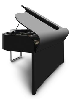 AUDI design grand piano  This is an amazing design, and I could only imagine what it sounds like...