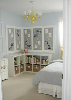 like the boards, baskets and jars for storage... are glass jars safe in a boys room?