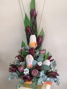 Australian Natives - Designer: Stephanie Hanley. www.floralhavenflorist.com.au