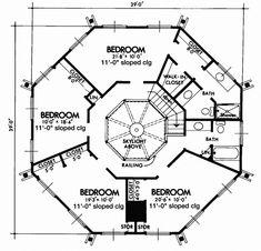 Home Plans HOMEPW04196 - 1,664 Square Feet, 3 Bedroom 2 Bathroom ...