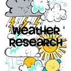I created this for my second graders to record information about various weather conditions as they researched on the internet. Hope you can use it...