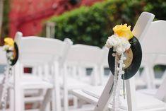 Retro, Rock n Roll & Flower-Focussed Wedding in Hollywood: Becky & Daniel