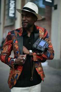 African style men fashion
