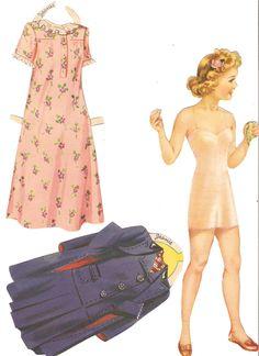 Miss Missy Paper Dolls: Slumber Party