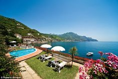 Beachy bonus: Hotels with sea access, like Palazzo Avino's Clubhouse by the Sea, are a real boon as the Amalfi Coast's beaches are nothing to shout about