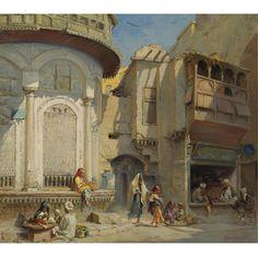 """Frans Wilhelm Odelmark """"An afternoon in Cairo"""""""