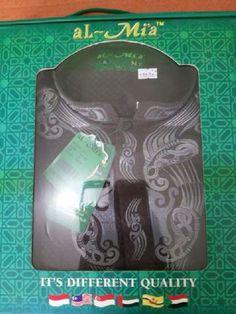 ECER : 160.000 Baju koko lengan panjang merek Al Mia original Bahan madina Fit to xl