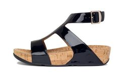 fitflop Wooden Bottom Womens Black