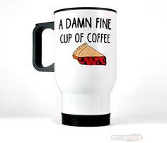 Twin Peaks fan Travel Mug