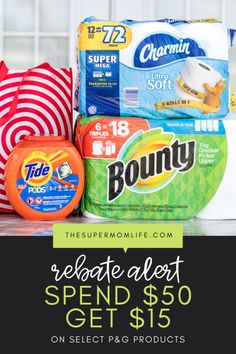 P&G Rebate Available Now Through February 2020 - The Super Mom Life Best Money Saving Tips, Ways To Save Money, Money Tips, Saving Money, Money Hacks, Money Savers, P&g Products, Travel Size Products, Old Spice