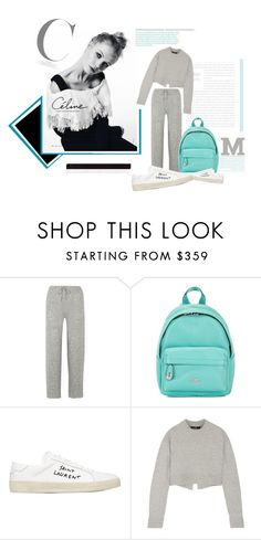 """""""Bez tytułu #401"""" by karolina6006 ❤ liked on Polyvore featuring The Row, Coach, Yves Saint Laurent and TIBI"""
