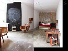 Schau Dir dieses grossartige Inserat bei Airbnb an: Recycled DESIGN Studio - great area - Apartments zur Miete in Berlin