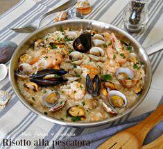 Gnocchi, Rice Recipes, Cooking Recipes, Arancini Recipe, Best Italian Recipes, Special Recipes, Rice Dishes, Fish And Seafood, Food Presentation