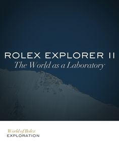 Rolex and Exploration