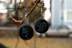 Air Nomad Symbol Earrings from Avatar The Last Airbender