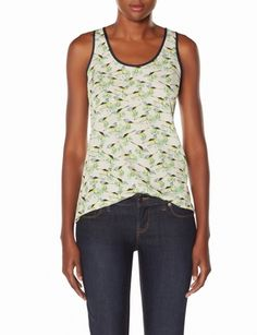 Button Back Birdie Tank from THELIMITED.com, just ordered it