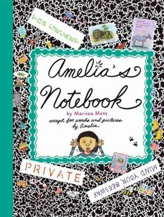 Amelia's Notebook...I remember when they had these in American Girl Magazine!