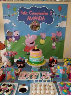 Ollie's birthday ideas eppa This halloween is definitely our favorite pre-school occasion subjects, and 1st Birthday Boy Themes, Baby Girl Birthday, 4th Birthday Parties, Birthday Party Decorations, 2nd Birthday, Birthday Ideas, Cumple Peppa Pig, Peppa Pig Birthday Cake, Peppa Pig Family