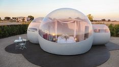Bubble Tent, Hotel Interiors, Spain Travel, Elle Decor, Glamping, The Good Place, Places To Go, Bubbles, Outdoor Decor