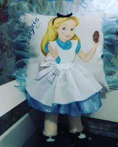 Image may contain: one or more people Kids Pillows, Animal Pillows, Soft Sculpture, Baby Knitting Patterns, Fabric Painting, Fashion Dresses, Disney Princess, Sewing, Crochet