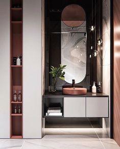 Cheap Home Decor .Cheap Home Decor Restroom Design, Bathroom Interior Design, Easy Home Decor, Cheap Home Decor, Old Home Remodel, Toilet Design, Modern Bathroom, Master Bathroom, Bathroom Mirrors