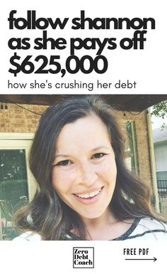 Can you imagine having $625,000 worth of debt? Shannon can, because Shannon did. That is, until she and her husband got laser focused on eliminating it. Read/watch this amazing journey to debt freedom story as Shannon and her husband have paid off over $133,000 in 15 months so far!