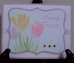 Spring Tulips! WRNYCC1102 by afancycat - Cards and Paper Crafts at Splitcoaststampers
