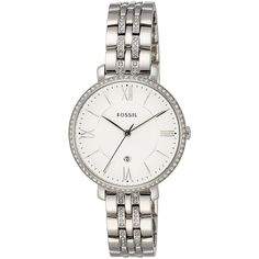 Fossil Jacqueline Three-Hand Date Stainless Steel Watch found on Polyvore