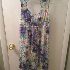 Tommy Bahama women's summer dress size S/P EUC hawiian sundress floral #TommyBahama #SummerBeach