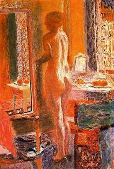 Bonnard, Desnudo Frente al Espejo 1937