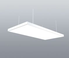 Stretch Film LED Panel Light by NEONNY