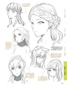 51 Ideas Drawing Inspiration Anime Hair For 2020 Drawing Hair Tutorial, Manga Drawing Tutorials, Manga Tutorial, Drawing Techniques, Art Tutorials, Anatomy Tutorial, Painting Tutorials, Drawing Poses, Drawing Tips