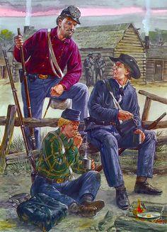 """Texas Infantry, 1862"" • Lone Star Rifles - Co L, 4th Texas Infantry  • Lone Star Guards - Co E, 4th Texas Infantry  • Co K, 22nd Texas Infantry"